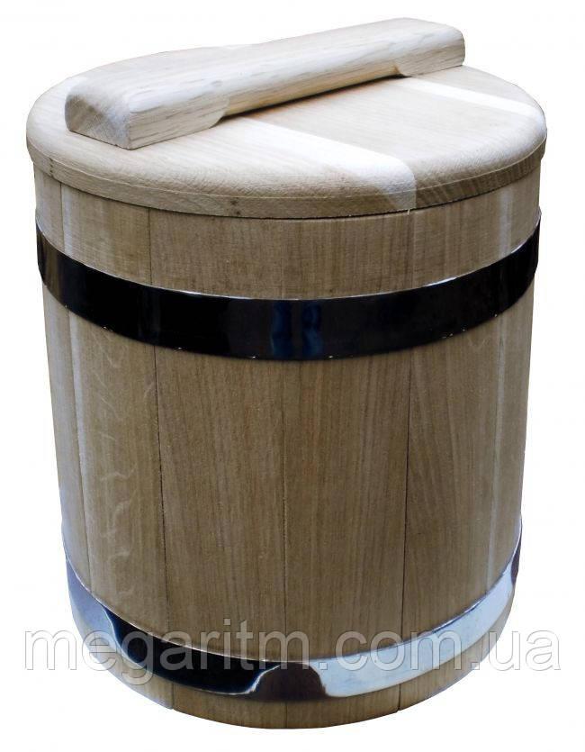 Кадка дубовая для солений 15 литров