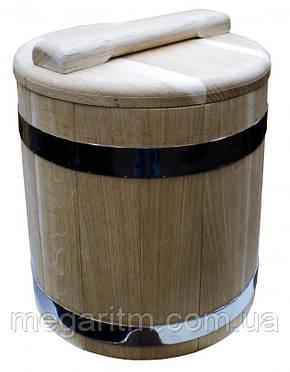 Кадка дубовая для солений 15 литров, фото 2