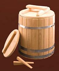 Кадка дубовая для солений 40 литров, фото 2