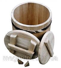 Кадка дубовая для солений 40 литров, фото 3