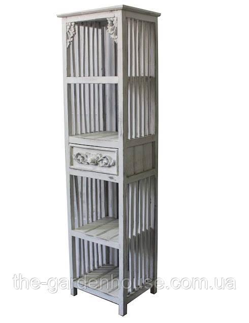"""Этажерка """"Ажур"""" с ящиком, 150х40 см"""