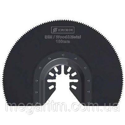 Полотно для реноватора KROHN M0010013 (радиальная насадка 100 мм BiM), фото 2