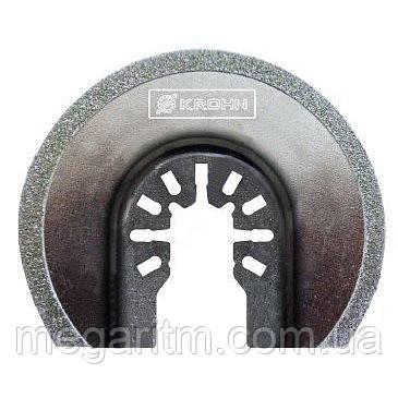 Полотно для реноватора KROHN M0010023 (радиальная насадка 65 мм LongLife), фото 2