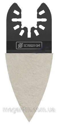 Полотно для реноватора KROHN M0010046 (2-х сторонний скребок 35 мм)