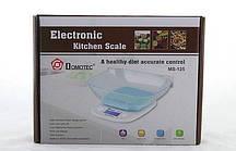 Ваги електронні кухонні Domotec MS 125 з чашею