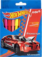 Фломастеры 12 цветов KITE 2014 Hot Wheels 046