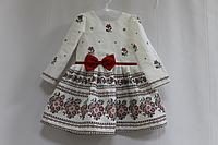 """Повседневно - нарядное платье на девочку в укр стиле """"Вышиванка"""""""