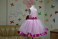 """Нарядное платье на девочку """"Мечта в розовом цвете"""""""