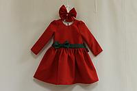 Повседневно - нарядное платье на девочку