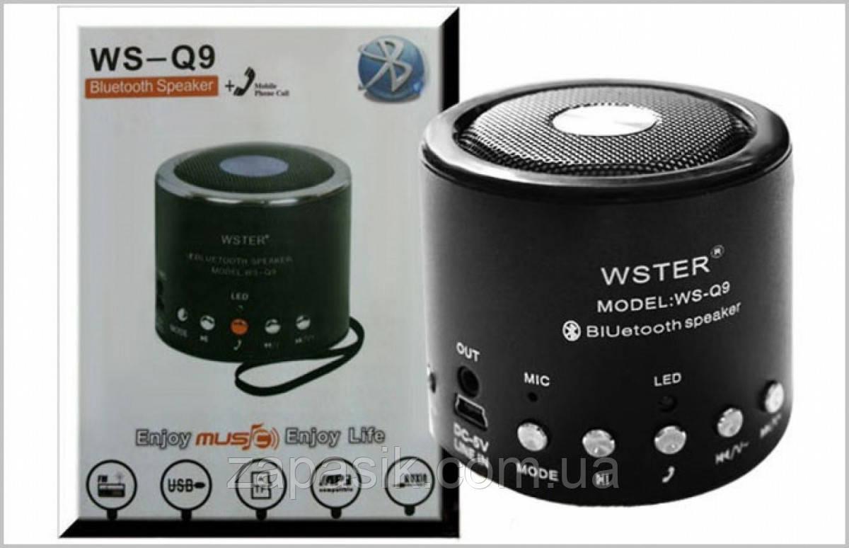 Беспроводная MP3 Bluetooth Колонка Спикер WS Q 9