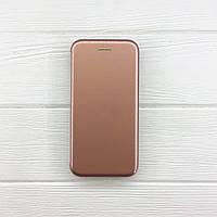Чехол на iPhone 8 Книжка Aspor VIP глянцевый пластик для телефона Айфон 8 Золото