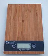 Ваги електронні кухонні Domotec MS A Дизайн під дерево