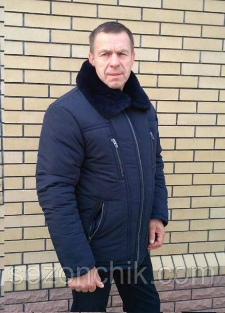 Зимние мужские куртки больших размеров стильные