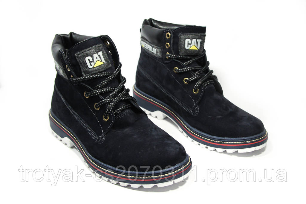 Ботинки мужские CAT 13037 (реплика)