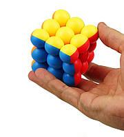 Кубик Рубика 3x3x3 в котором вместо квадратиков шарики что необычно и интересно SKU0000974, фото 1