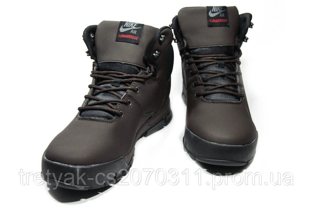 Ботинки мужские Nike Air Lunarridge 1-021 (реплика)