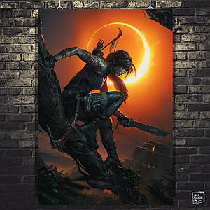 Постер Tomb Raider, Лара Крофт, Томб Райдер. Розмір 60х42см (A2). Глянцевий папір