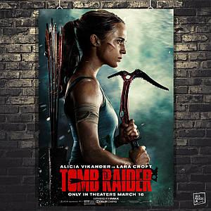 Постер Tomb Raider, Лара Крофт, Томб Райдер. Розмір 60х41см (A2). Глянцевий папір