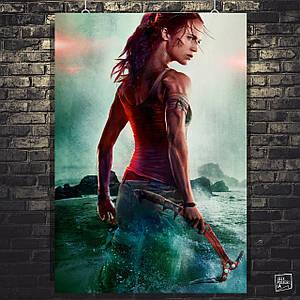 Постер Tomb Raider, Лара Крофт, Томб Райдер. Розмір 60х40см (A2). Глянцевий папір