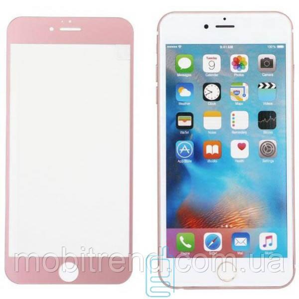 Защитное стекло Apple iPhone 7 Plus, iPhone 8 Plus 4D rose Zool