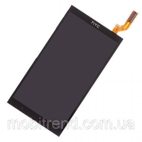 Дисплей HTC Desire 700 Dual Sim with touchscreen black orig