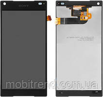 Дисплей Sony E5823 Xperia Z5 Compact,E5803 with touchscreen black orig