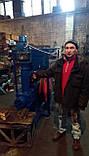 Пресс-брикетировщик ударно-механического типа для производства брикетов из соломы, фото 2
