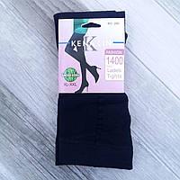 Колготки женские хлопок Kenalin, размер XL-2XL, чёрные, 280