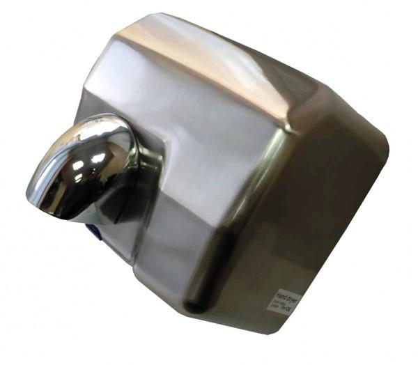 Электросушилка для рук ZG-915 нержавеющая сталь, хром/полированная