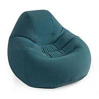 Велюр кресло intex