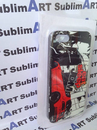 Пластиковая упаковка для Iphone 4/4s, 5/5S (мягкий пластик), фото 2