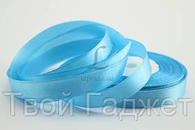 ОПТ/Розница Лента атласная 12 мм (#187) (голубой)
