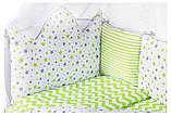 Дитяча постіль Babyroom Bortiki lux-08 stars, фото 4