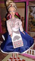 Подарок ребенку. Украинский костюм для любимой куклы Барби