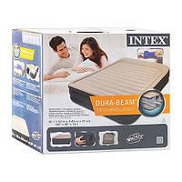 Велюр кровать intex