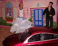 Одежда для кукол типа Барби, белоснежное, Прием у принца