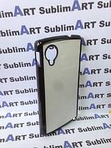 Чехол для 2D сублимации пластиковый на LG Google Nexus 5 черный, фото 2