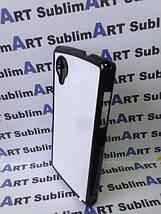 Чехол для 2D сублимации пластиковый на LG Google Nexus 5 черный, фото 3