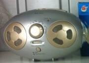 Светодиодный динамо фонарь с радио MS-520 4 в 1