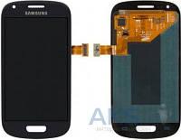 Дисплей (экран) для телефона Samsung Galaxy S3 mini I8190 + Touchscreen Original Blue