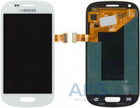 Дисплей (экран) для телефона Samsung Galaxy S3 mini I8190 + Touchscreen Original White