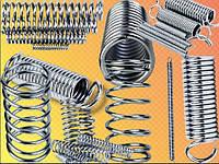 Изготовление пружин, производство пружин, пружины сжатия, пружины растяжения, пружины кручения
