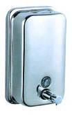 Дозатор для жидкого мыла 1200 мл из нержавейки (КТМ802)