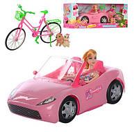 Кукла с машиной и велосипедом K877-30E, фото 1