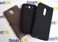Original Silicon Case HTC Desire C (A320e) Black чехол накладка силиконовая