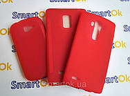 Original Silicon Case Lenovo A316 Red чехол накладка силиконовая