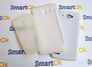 Original Silicon Case Lenovo A606 White чехол накладка силиконовая