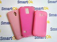 Original Silicon Case Samsung I9200 9205 9208 Pink чехол накладка силиконовая