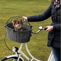 Trixie TX-13119 велосипедная корзина для собак до 5кг 44 × 34 × 35 см
