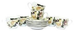 Набор чайный Белая Магнолия Keramia 24-198-035 12 предметов